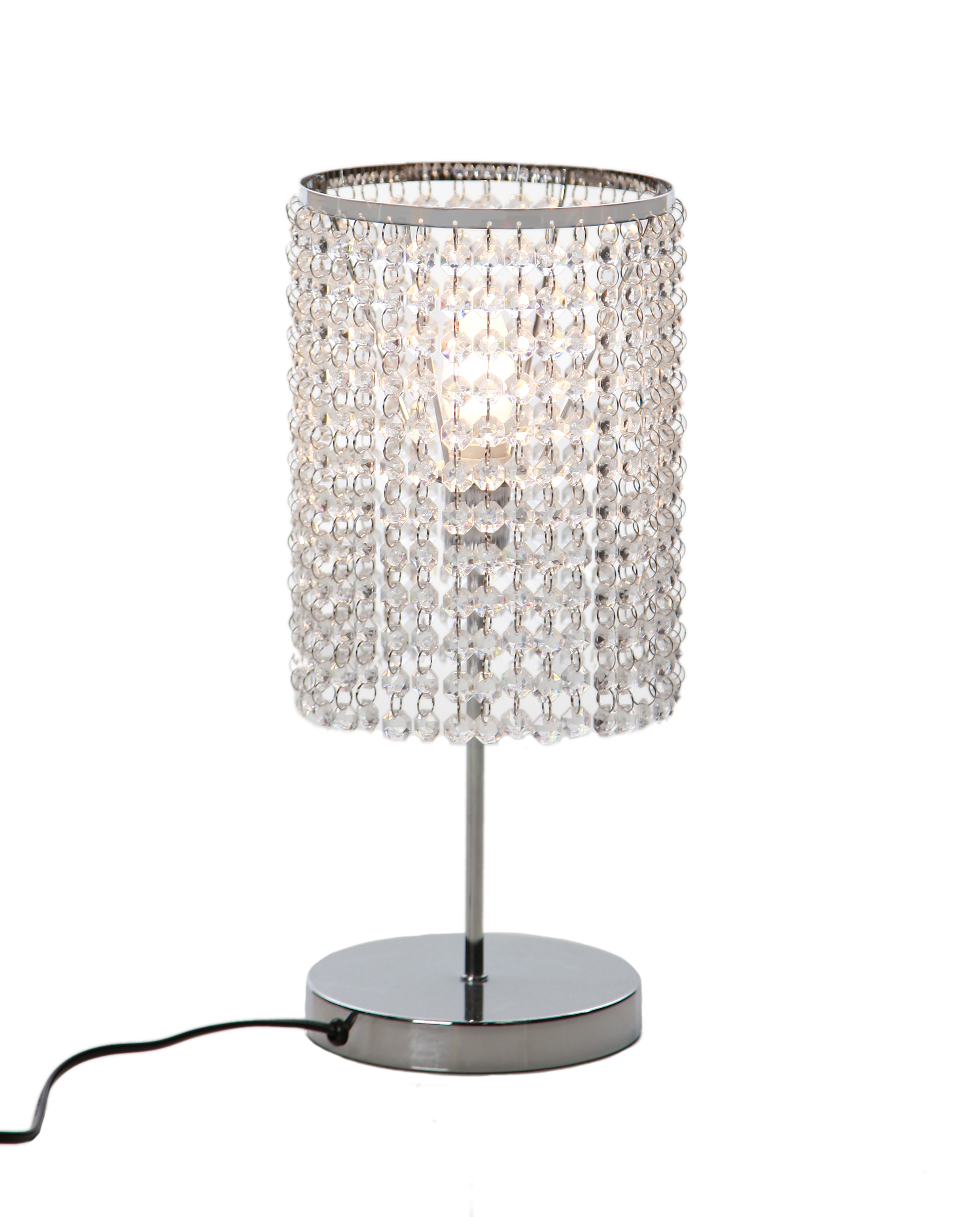 Tree Effect Floor Lamps : Table lamp floor light or ceiling shade chrome crystal